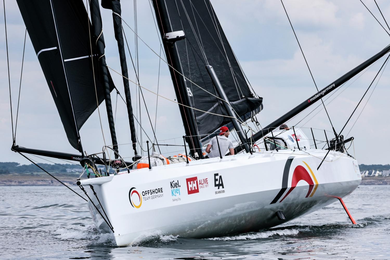 Europe, IMOCA 60, Leg 1, Lorient, Offshore Team Germany, THE OCEAN RACE EUROPE, departure, start