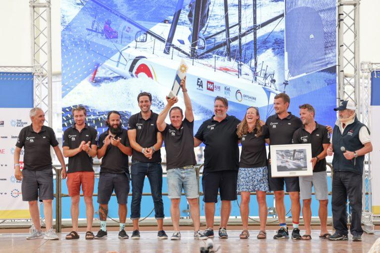 Coastal, Europe, Genoa, Offshore Team Germany, prize giving