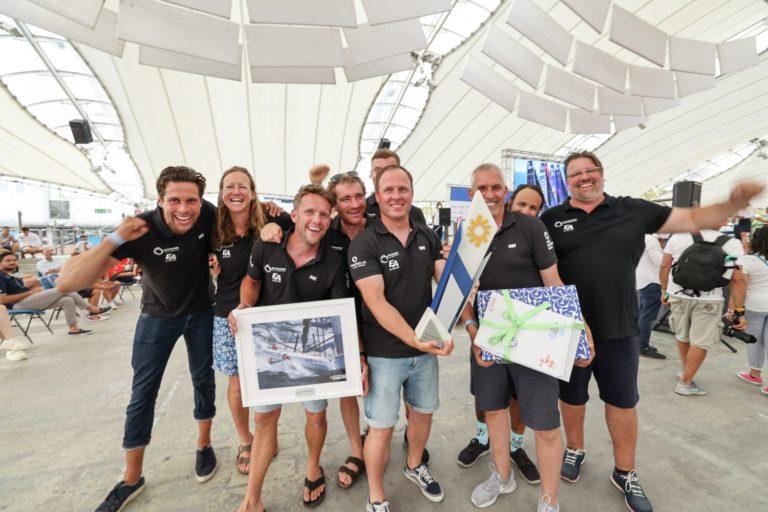 Coastal, Europe, Genoa, Offshore Team Germany, celebration, prize giving, winners